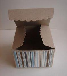 Scallop Envelope Box