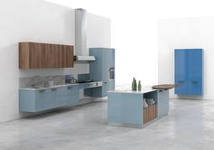 Living the kitchen: KS by Del Tongo