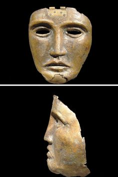 Bronze Parade Mask of a Cavalry officer, CIVILIZATION Roman, 100 C.E. - 200 C.E.
