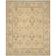Safavieh Handmade Anatolia Beige/ Beige Wool Rug (9' x 12') | Overstock™ Shopping - Great Deals on Safavieh 7x9 - 10x14 Rugs