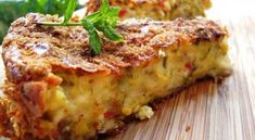 Greek Recipes, Keto Recipes, Cooking Recipes, Party Recipes, Cetogenic Diet, The Kitchen Food Network, Mushroom Pie, Food Network Recipes, Feta