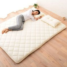 amazon    emoor japanese traditional futon mattress   classe   queen size  shikibuton authentic japanese futon mattress   products i love      rh   pinterest