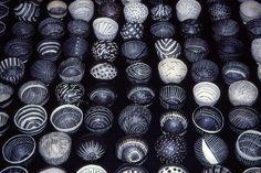 Priscilla Mouritzen, Pinched porcelain bowls. Via leslieavonmiller.tumblr.com