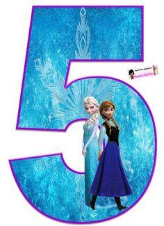 Frozen: Free Elsa and Ana Alphabet. Frozen: Bello Alfabeto Gratis de Elsa y Ana. Frozen Birthday Party, Disney Frozen Birthday, Frozen Theme Party, Disney Frozen Elsa, Birthday Party Themes, Frozen Font, Anna Und Elsa, Frozen Cake, Frozen 1