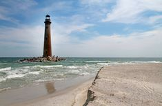 Sand Island Lighthouse - sits on the southernmost point of the state of Alabama #sightseeing