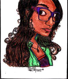 my friends caricature
