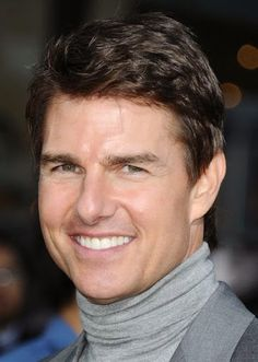 Short Straight Casual - Medium Brunette (Chestnut) - Side on View Hair Density, Hair Transformation, Tom Cruise, Celebrity Hairstyles, Love Is Sweet, Summer Hairstyles, Textured Hair, Cut And Color, Face Shapes