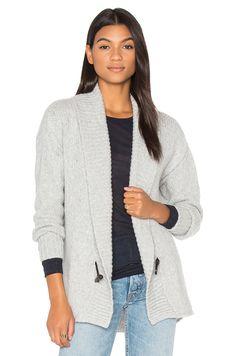 ENZA COSTA Cocoon Cardigan. #enzacosta #cloth #dress #top #shirt #pant #coat #jecket #jacket #shorts #ski