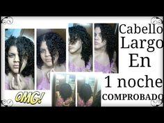 Cabello largo en 1 noche (COMPROBADO) - YouTube