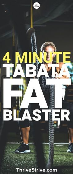 Want to burn fat fast? Then you should check out Tabata. It's a great workout concept that helps you lose weight, burn belly fat, and do it all in a short period of time. Here is a great 4 minute tabata workout. | Posted By: NewHowToLoseBellyFat.com