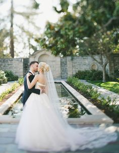 Take an inside look at this elegant  wedding at Greystone Mansion that looks as if it were taken out of a fairytale!