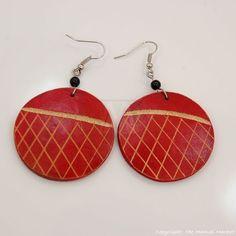 Maasai Market African Handmade Ethnic Jewelry Wood Masai Earrings 694 ...