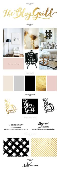 Brand Design By Hello Big Idea Find This Pin And More On Style Guides