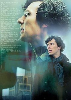 Sherlock talking to The Woman about love. He claims love is a disadvantage, but what about John?