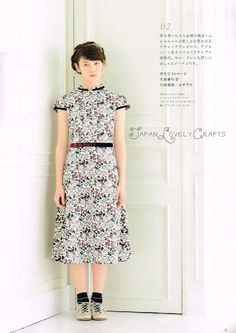 I Love Liberty Print 3 - Japanese Sewing Pattern Book for Women & Girl Children…