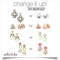 earring change up! www.stelladot.com/libbeschmidt