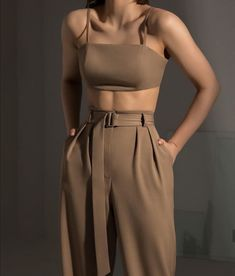 nude co-ord fashion outfit - Women's fashion interests Look Fashion, Korean Fashion, Fashion Design, 70s Fashion, Winter Fashion, Girl Fashion, Petite Fashion, Fashion 2020, Vintage Fashion