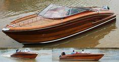 Wooden Boats by Peter Vuong, via Behance