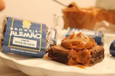 Brownie de doce de leite   http://www.bazzah.com.br/brands/4a2a118eb9681a8471d7e3df