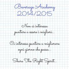 Beverage Academy 2014/2015