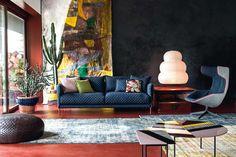 Moroso Product Campaign Shot Inside Patrizia Moroso's House. (via Bloglovin.com )