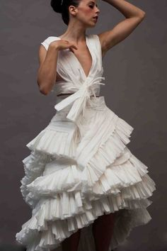 Did you know there's a contest where you make wedding dresses out of toilet paper?!