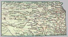 Kansas in 1900.