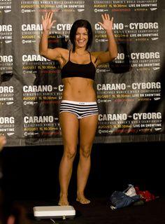 Gina Carano...strong, not skinny motivation!
