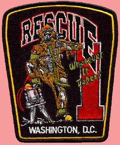 ◆DCFD Rescue 1 Company Patch◆