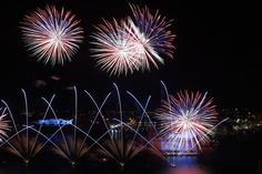 malta at night from sky | projections lit up the night sky over Grand Harbour yesterday as Malta ...