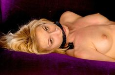 Picture 10 of the blonde rope gagged whore (her name pls)