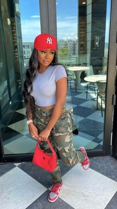 Baddie Outfits Casual, Boujee Outfits, Teen Fashion Outfits, Dope Outfits, Summer Outfits, Swag Outfits For Girls, Teenage Girl Outfits, Cute Swag Outfits, Pretty Outfits
