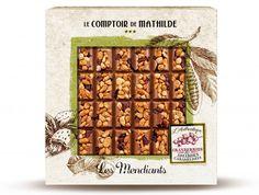 Le Comptoir de Mathilde Mendiants melkchocolade, veenbessen en gekarameliseerde amandelen  SHOP ONLINE: https://www.purelifestyle.be/food-drinks/food/tussendoortjes/le-comptoir-de-mathilde-mendiants-melkchocolade-veenbessen-en-gekarameliseerde-amandelen.html