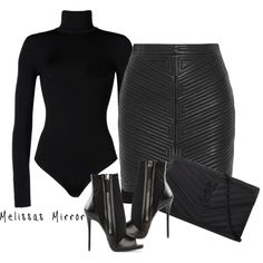 A fashion look from July 2015 featuring Balmain mini skirts, Giuseppe Zanotti ankle booties and Yves Saint Laurent clutches. Browse and shop related looks. Classy Outfits, Sexy Outfits, Stylish Outfits, Fall Outfits, Fashion Outfits, Womens Fashion, Work Fashion, Fashion Looks, Fashion Mask