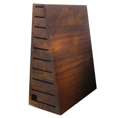 Zwilling J.A. Henckels Bob Kramer Pyramid Knife Block, 10-slot - 10-slot - Zwilling Kramer 34900-101, #ZwillingJ.A.Henckels