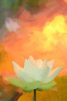 DD0A4244-1-ls5-1000 | Lotus Flower Paintings - Image Based -… | Flickr Flower Painting Images, Lotus Flower Images, Oil Painting Flowers, Flower Art, Painting & Drawing, Lotus Flowers, Flower Paintings, Watercolor Paintings, Oil Paintings