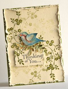 Card by Susan Smit  (042713)  [Stampin' Up!  Hopeful Thoughts, Language of Friendship]
