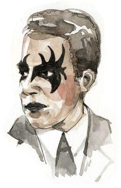 Punk Rock Langston Hughes   8 Classic Writers Reimagined As Punk Rockers