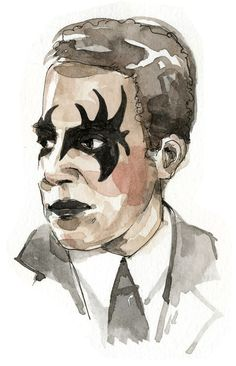 Punk Rock Langston Hughes, by Wendy MacNaughton for California Bookstore Day and Chronicle Books