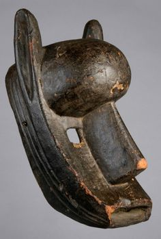 "Africa | ""Kore Suruku"" mask from the Bambara people of Mali 