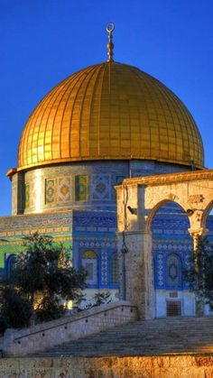 Beautiful Photo for the Rock of Dome - Palestine