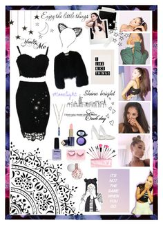 """""""Ariana Grande"""" by fangirl9 ❤ liked on Polyvore featuring xO Design, River Island, Limedrop, Medusa's Makeup, Casadei, Forever 21, Estée Lauder, Panacea, Brinley Co and Valentino"""