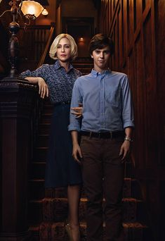 Norma Bates and Norman Bates
