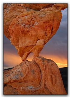 Fire Arch ~ Arches National Park, Utah, USA....