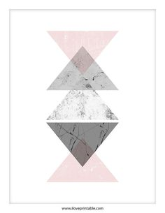 Arte geométrico arte bohemio para imprimir el por ILovePrintable