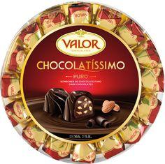 La rueda Chocolatissimo de Bombones de Chocolate Puro. Unos bombones impresionantes.