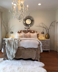 Rustic master bedroom paint colors master bedroom inspiration c farmhouse ideas modern paint colors home improvement thrift stores near me Modern Farmhouse Bedroom, Farmhouse Master Bedroom, Master Bedroom Design, Home Decor Bedroom, Modern Bedroom, Bedroom Ideas, Rustic Farmhouse, Farmhouse Style, Bedroom Designs