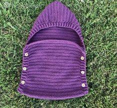 sleep sack for preemies, free crochet pattern