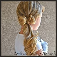 Clothes-line Bow, fun styles for little girls