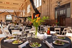 Beautiful Union Station was the backdrop for this event by All Seasons Event Rental